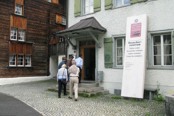 Besucherzentrum Glarnerland Ausstellung Elm